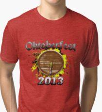Oktoberfest Keg 2013 Tri-blend T-Shirt