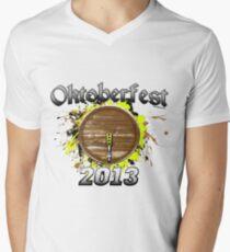 Oktoberfest Keg 2013 Men's V-Neck T-Shirt