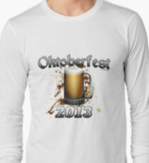 Oktoberfest Beer Mug 2013 Long Sleeve T-Shirt