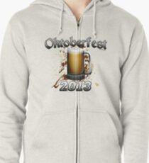 Oktoberfest Beer Mug 2013 Zipped Hoodie