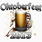 Oktoberfest Beer Mug 2013 by Oktobeer