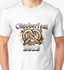 Oktoberfest Pretzel 2013 Unisex T-Shirt