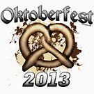 Oktoberfest Pretzel 2013 by Oktobeer