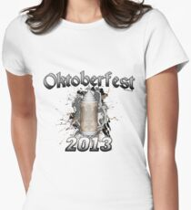 Oktoberfest Beer Stein 2013 Women's Fitted T-Shirt