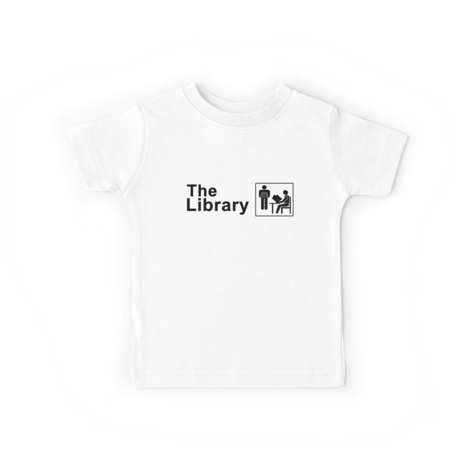 The Library Logo in black by ShoptheLibrary