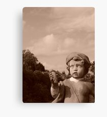 Dont Blink!! Canvas Print