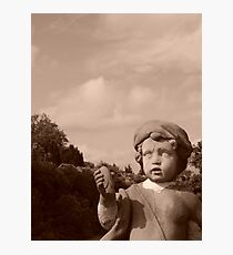 Dont Blink!! Photographic Print