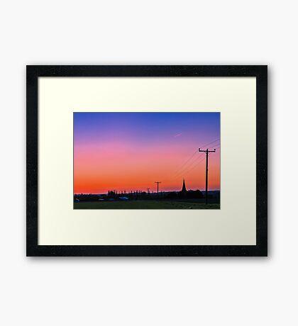 Rural England  Framed Print