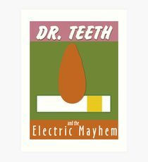 Dr. Teeth & the Electric Mayhem Art Print