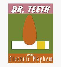 Dr. Teeth & the Electric Mayhem Photographic Print