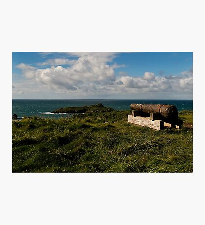 Rusty Cannon Photographic Print