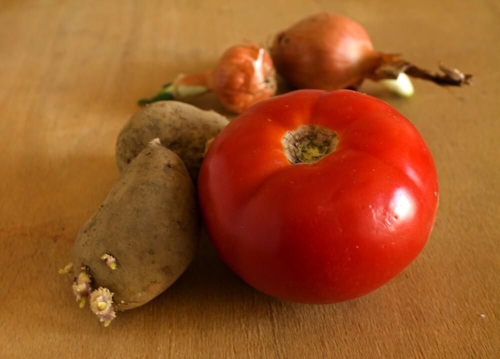 vegetables by slavikostadinov