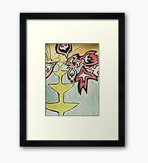 Fire birds 1 Framed Print