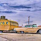 1950s T-Bird and Trailer by matthewbam