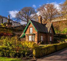 Gardener's Cottage, Princes Street Garden's by Graeme  Ross