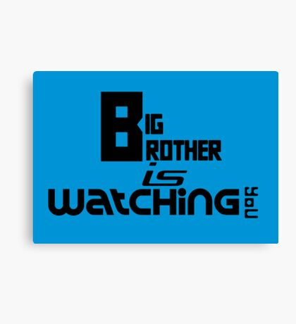 Big Brother is Watching You Canvas Print