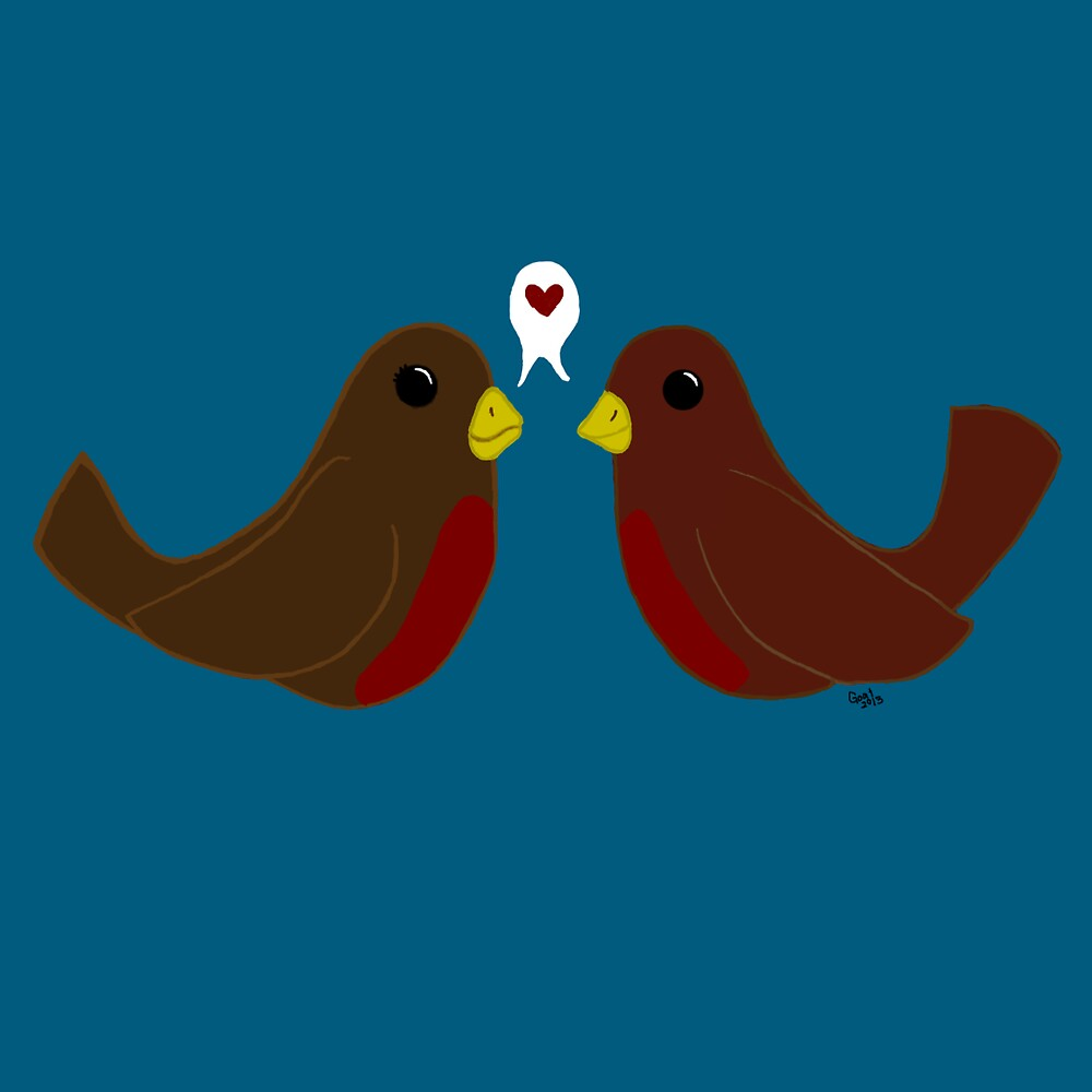 Love Birds by Goat !