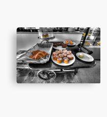 Royston Park Cafe - Trolley Canvas Print