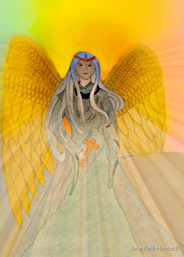 Rainbow Angel by Jane Neill-Hancock