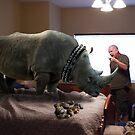 Bad Rhino! by Randy Turnbow