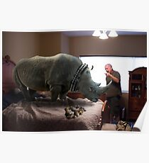 Bad Rhino! Poster