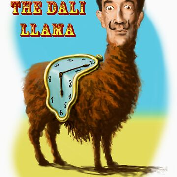 All hail the mysterious Dali Llama by andyhook