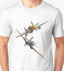 P51 Mustang And Spitfire Tee Shirt Unisex T-Shirt