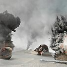 Turtle War by modernagestudio