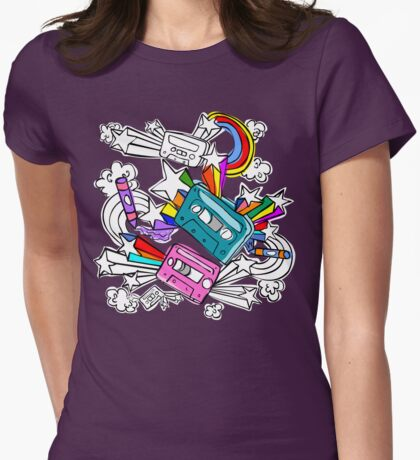 I'd Like to Spend The  Day Colouring with Crayons T-Shirt