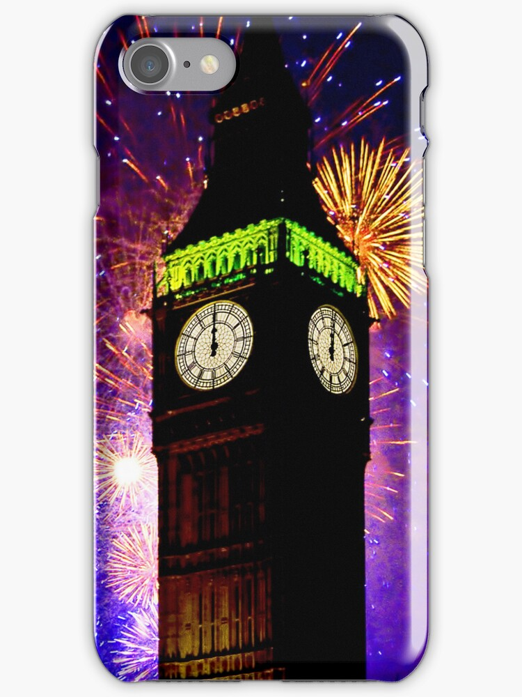 Happy New Year I Phone Case by Colin  Williams Photography