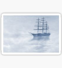 Morning Mists Cyanotype Sticker