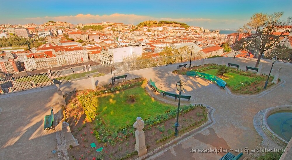 miradouro de S.Pedro de Alcântara by terezadelpilar ~ art & architecture