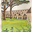 Salisbury Cathedral  by Caroline  Hajjar Duggan