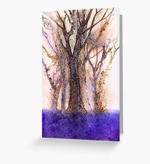 If you go down to the woods today you're sure of a big surprise. Greeting Card
