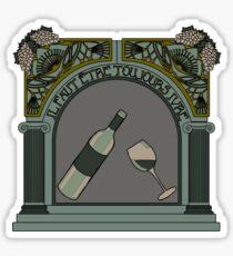 Baudelaire Sticker