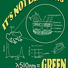 It's Not Easy Being Green by Bill Cournoyer