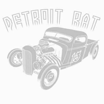 Detroit Rat Rod by limey57