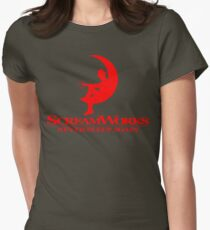 ScreamWorks (Red) Women's Fitted T-Shirt
