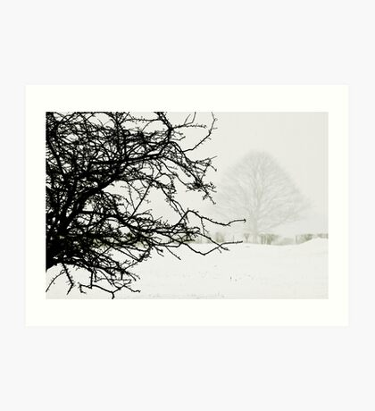 Impending blizzard Art Print