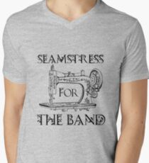 Seamstress for the band Men's V-Neck T-Shirt