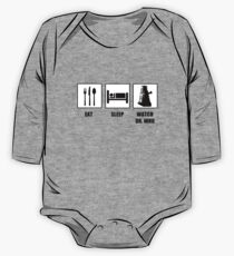 Eat Sleep Watch Doctor Who Kids Clothes