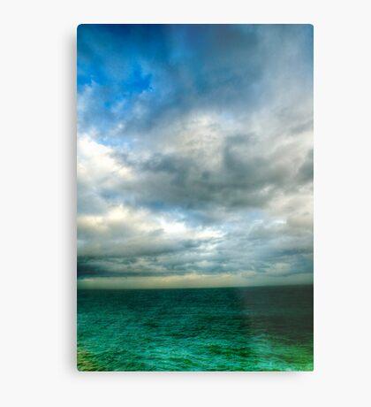 Green Seas Metal Print