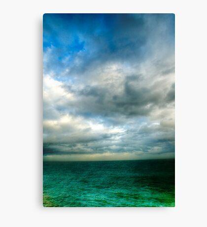 Green Seas Canvas Print