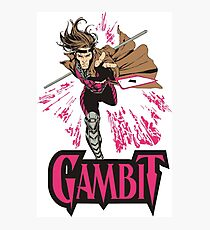 Gambit Superheroes T-Shirt Photographic Print