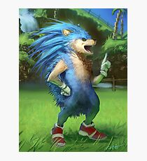 Sonic the Realhog Photographic Print