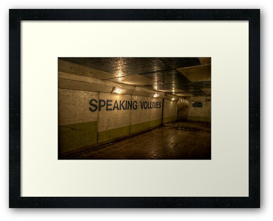 Subway - Speaking Volumes by Andrew Pounder