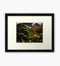 Japanese Garden San Francisco Framed Print