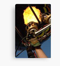 Hot Air Balloon Burner Canvas Print