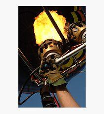 Hot Air Balloon Burner Photographic Print