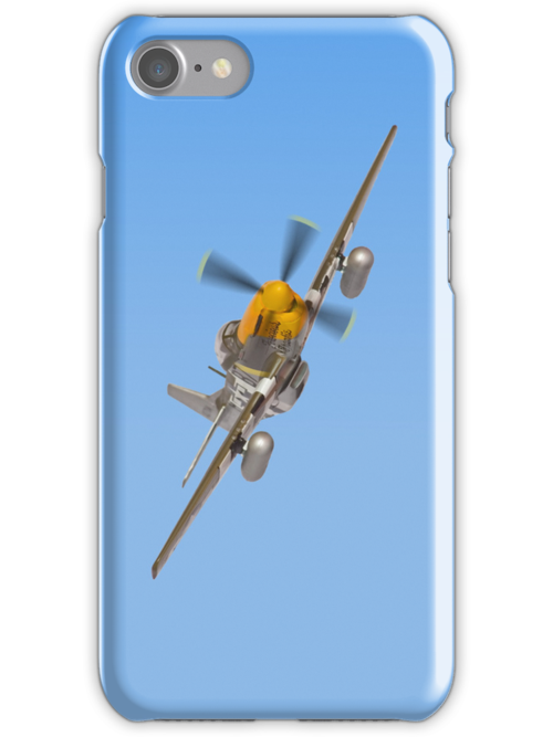 P51 Mustang i Phone Case  by Colin  Williams Photography